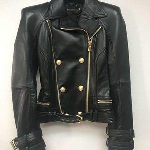 Balmain for H&M leather jacket RARE